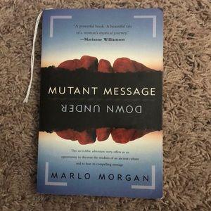 book: mutant message down under by Marlo Morgan